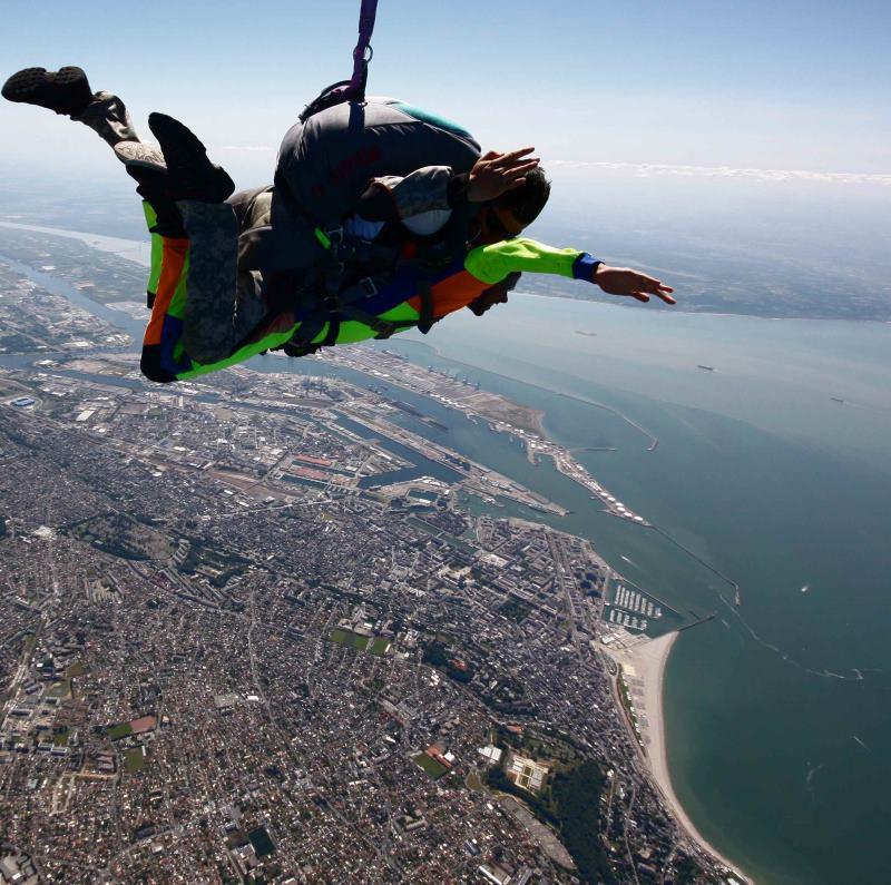 saut en parachute le havre